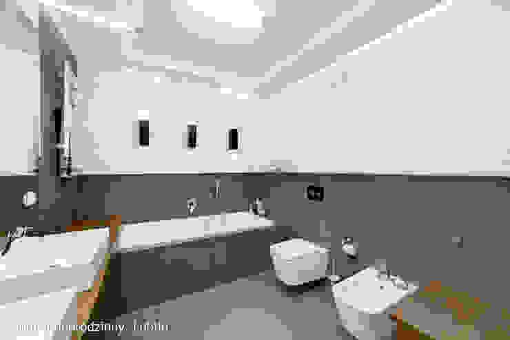 dom ul.Goplan Lublin Nowoczesna łazienka od Auraprojekt Nowoczesny