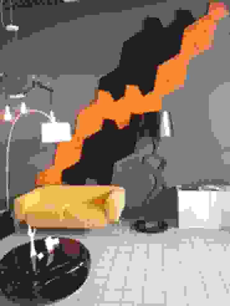 Industrial style office buildings by FLUFFO fabryka miękkich ścian Industrial