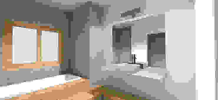 Bathroom by ben arquitectos,