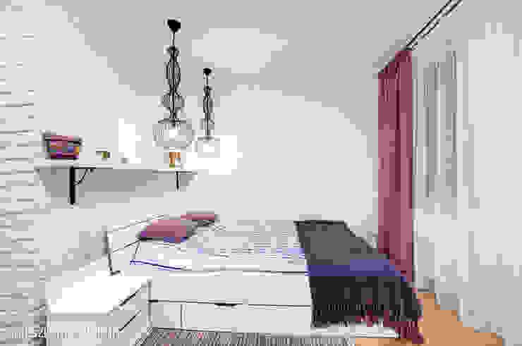 mieszkanie na Felinie Lublin: styl , w kategorii Sypialnia zaprojektowany przez Auraprojekt,Rustykalny