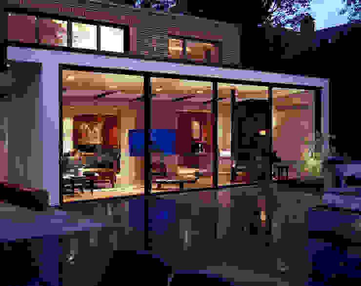 KSR Architects | Compton Avenue | Terrace Modern balcony, veranda & terrace by KSR Architects Modern