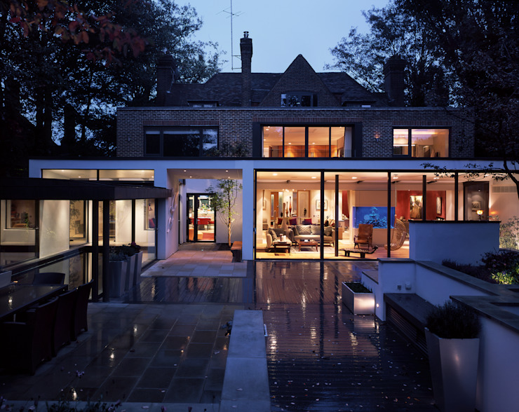 KSR Architects | Compton Avenue | Exterior Modern houses by KSR Architects Modern