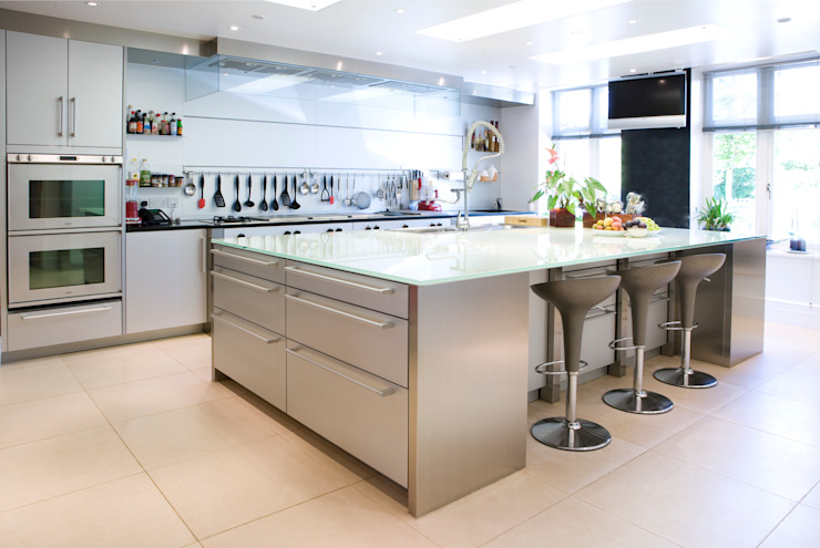 KSR Architects | Compton Avenue | Kitchen Cozinhas modernas por KSR Architects Moderno