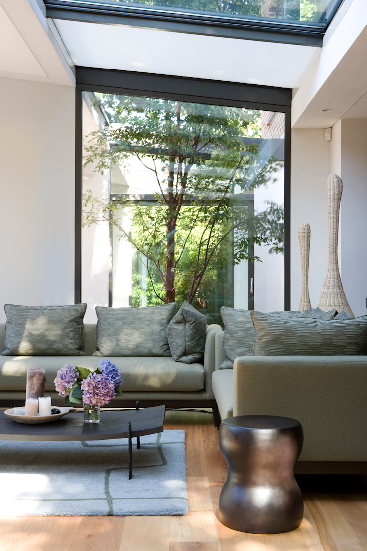 KSR Architects | Compton Avenue | Living room Livings de estilo moderno de KSR Architects Moderno