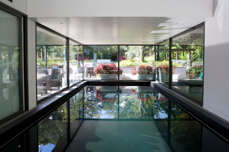 KSR Architects | Compton Avenue | Pool Moderne zwembaden van KSR Architects Modern
