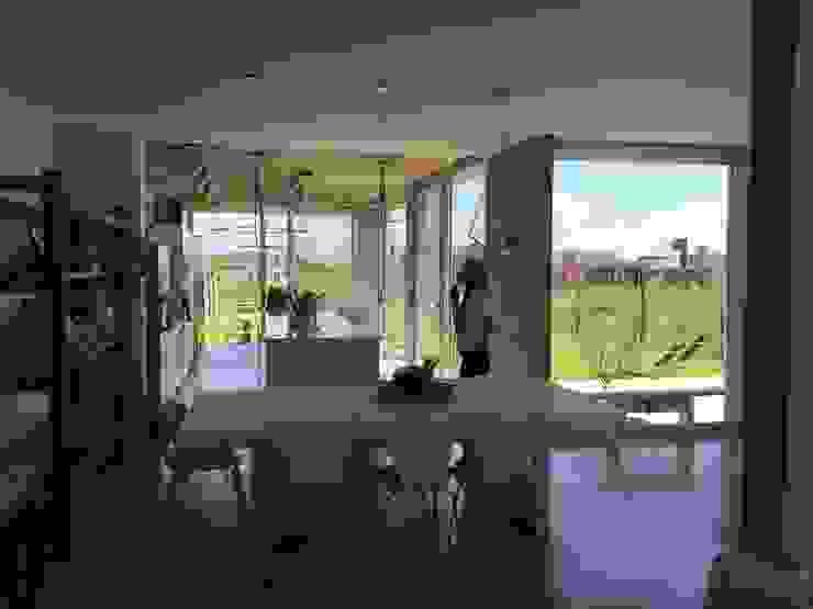 Casa Q Comedores modernos de Felipe Gonzalez Arzac Moderno
