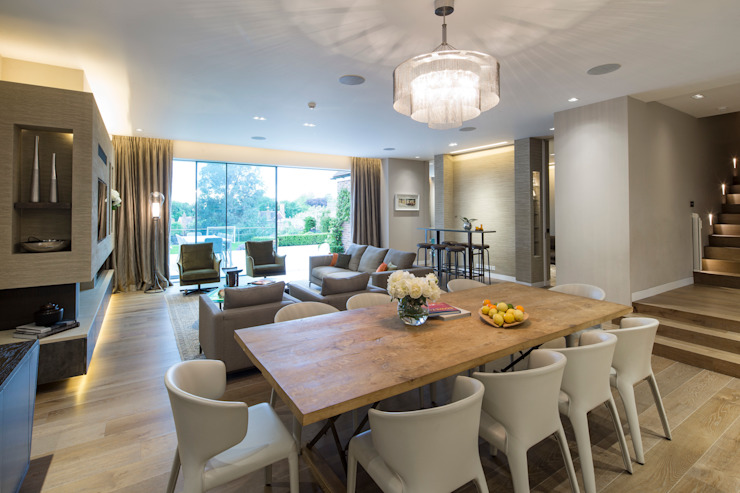 KSR Architects | Hampstead Village Home | Dining room Modern dining room by KSR Architects Modern