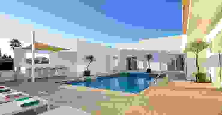 Pool by homify, Mediterranean