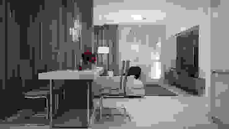 Minimalistische Wohnzimmer von GK DESIGN Minimalistisch