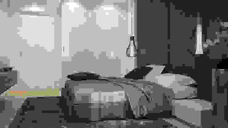 Minimalistische Schlafzimmer von GK DESIGN Minimalistisch