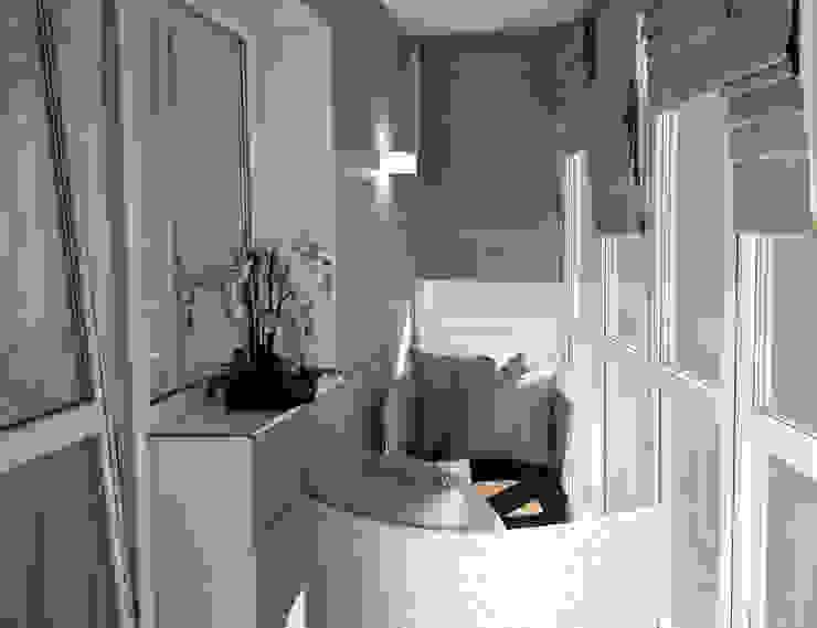 Minimalistischer Balkon, Veranda & Terrasse von GK DESIGN Minimalistisch