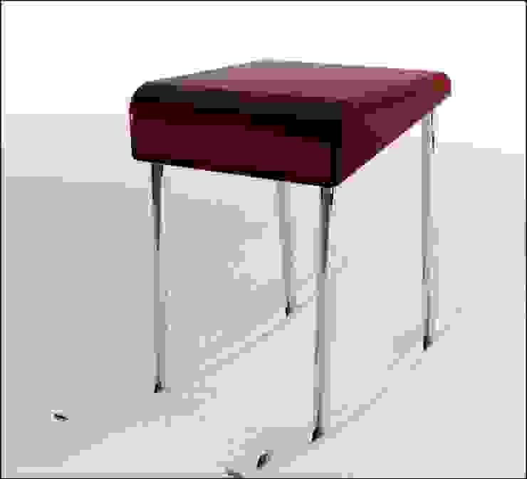 Inadapted rocking chair j por Joana Magalhães Francisco Minimalista Ferro/Aço
