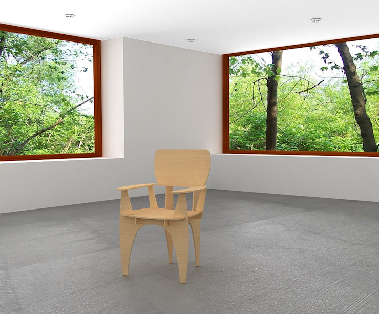 Take Ten por Joana Magalhães Francisco Minimalista Madeira Acabamento em madeira