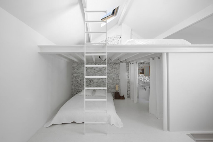 Minimalist bedroom by adn architectures Minimalist