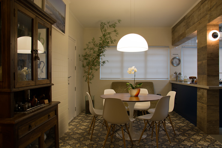 Cozinha Integrada Cozinhas modernas por arquiteta aclaene de mello Moderno