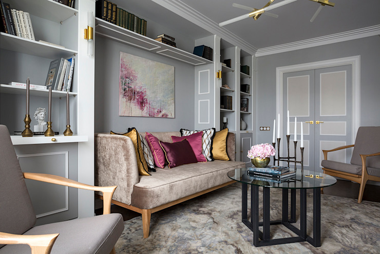 Living room by  Ekaterina Kozlova,