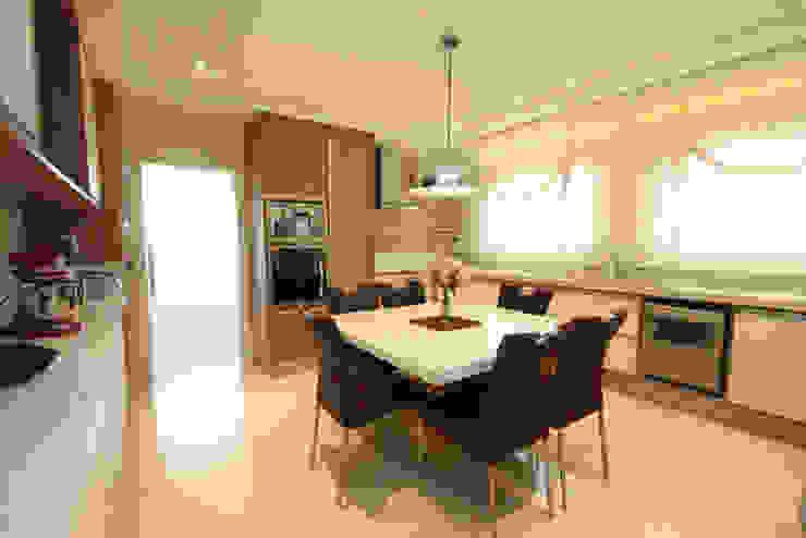 Cozinha - Vista 1 Cozinhas modernas por Daniela Hescheles Arquitetura Moderno