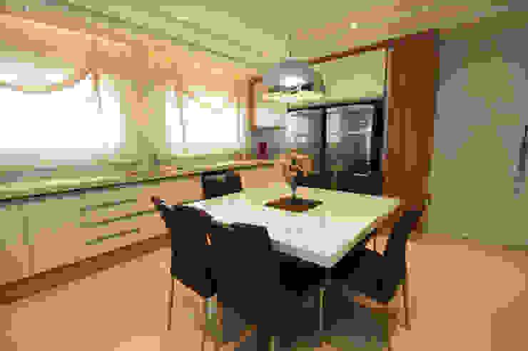 Cozinha - Vista 2 Cozinhas modernas por Daniela Hescheles Arquitetura Moderno