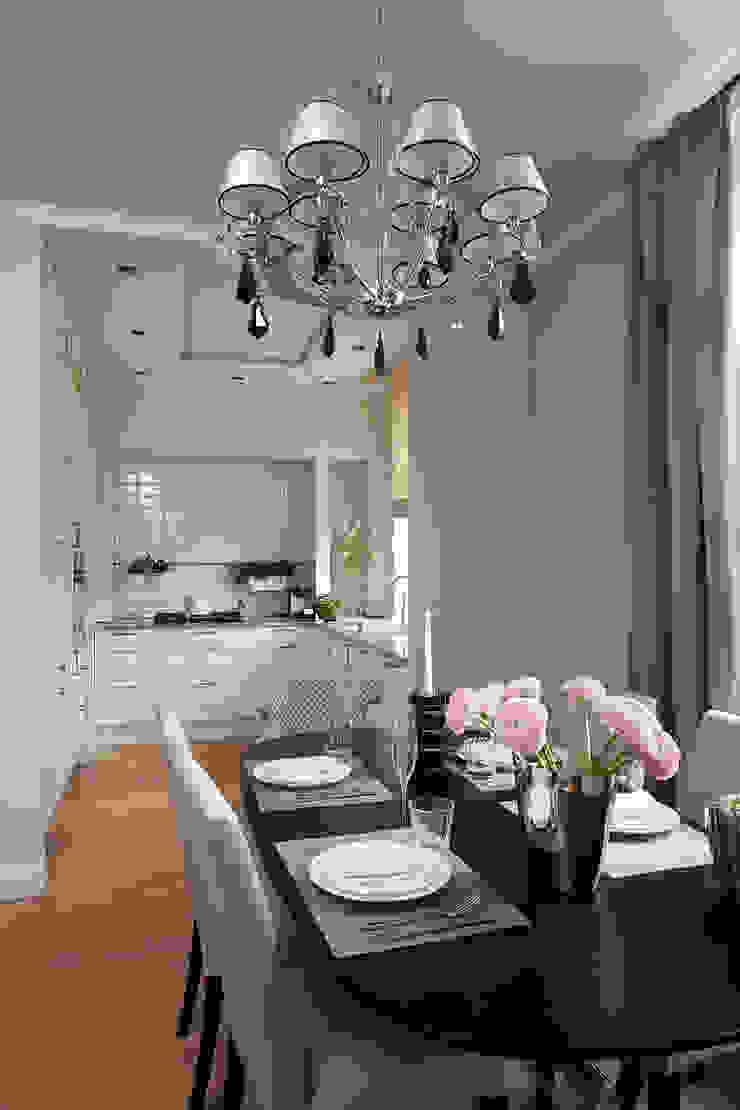 Project Fusion style Кухня в классическом стиле от Ekaterina Kozlova Классический Изделия из древесины Прозрачный