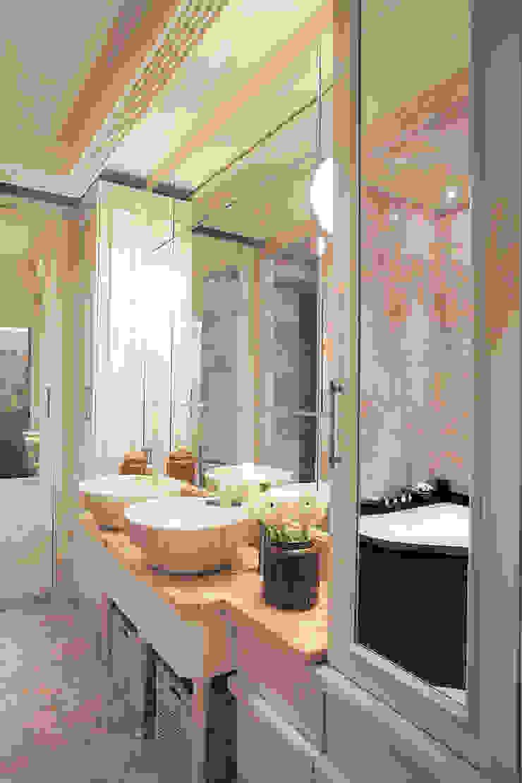 Project Fusion style Ванная комната в стиле модерн от Ekaterina Kozlova Модерн Мрамор