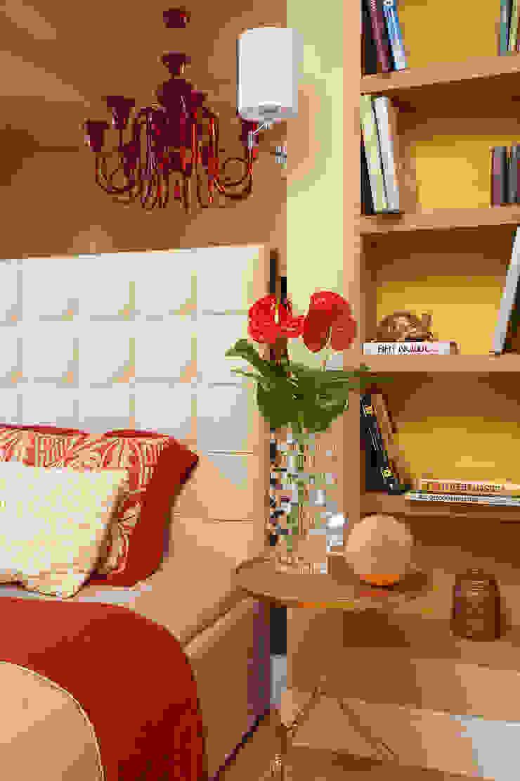 Project Fusion style Спальня в эклектичном стиле от Ekaterina Kozlova Эклектичный Текстиль Янтарный / Золотой