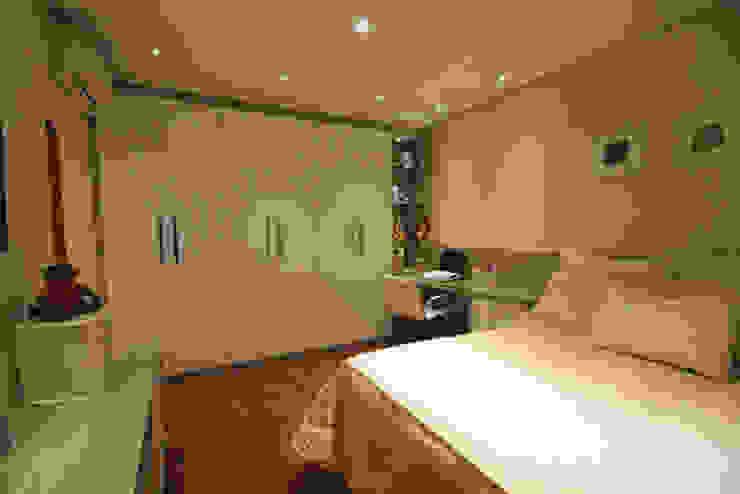 Dormitório - Vista 1 Quartos modernos por Daniela Hescheles Arquitetura Moderno