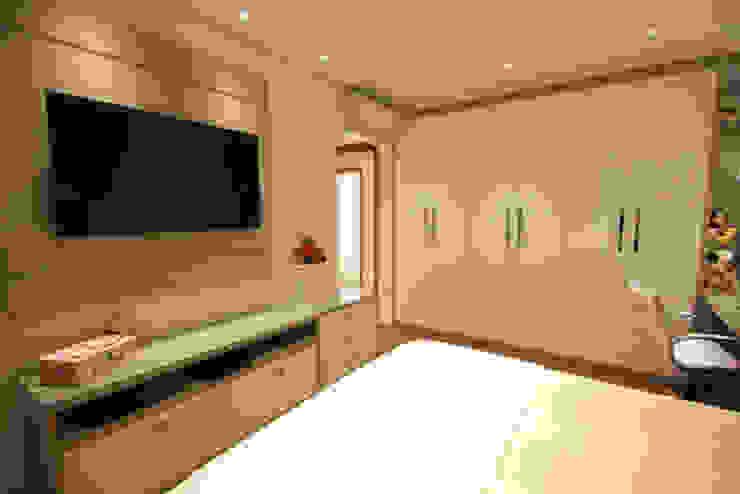 Dormitório - Vista 2 Quartos modernos por Daniela Hescheles Arquitetura Moderno