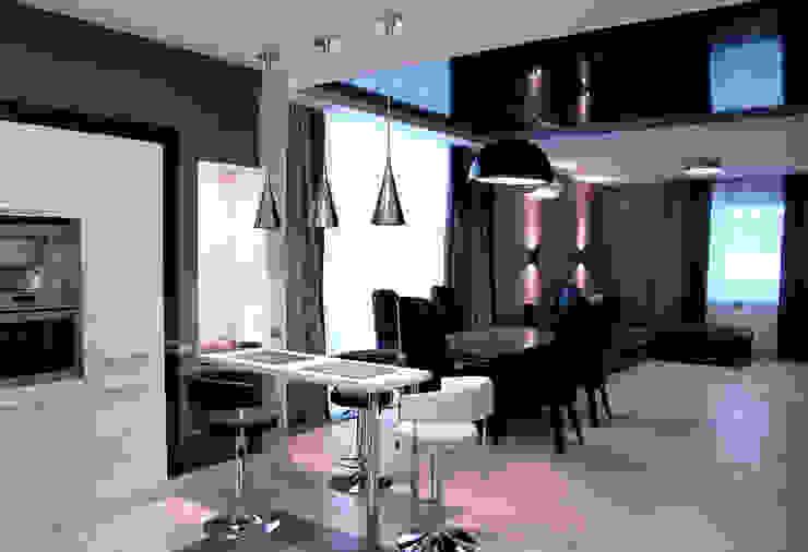 N-HOME | Ната Хатисашвили Minimalistische Wohnzimmer