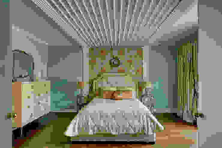 спальня хозяйки/2этаж Спальня в эклектичном стиле от Yucubedesign Эклектичный