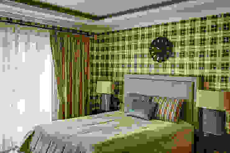 спальня хозяина/2этаж Спальня в эклектичном стиле от Yucubedesign Эклектичный