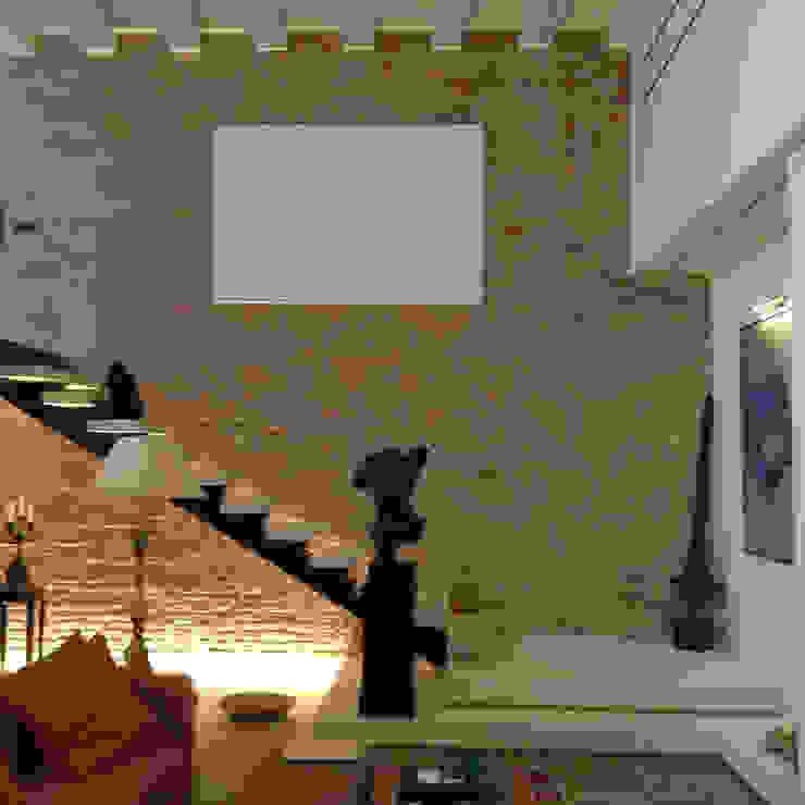 unità residenziale a venezia Ingresso, Corridoio & Scale in stile moderno di studi di progettazione riuniti Moderno