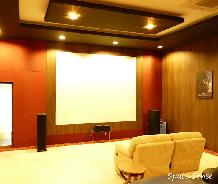 Private Home Theater Classic style media room by Space Sense Classic