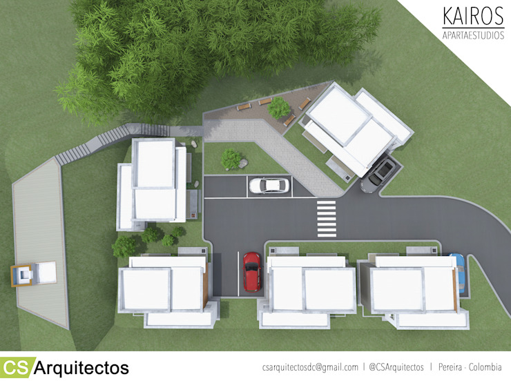 Casas de estilo  por CS Arquitectos, Minimalista