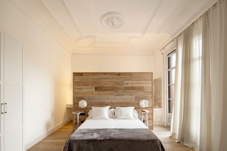 Alex Gasca, architects. Minimalist bedroom