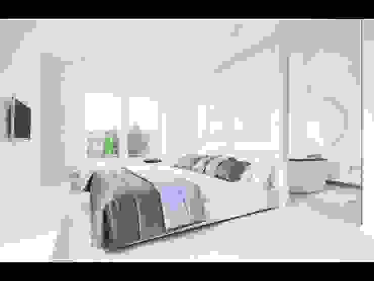 Minimalist bedroom by Строймассив Minimalist