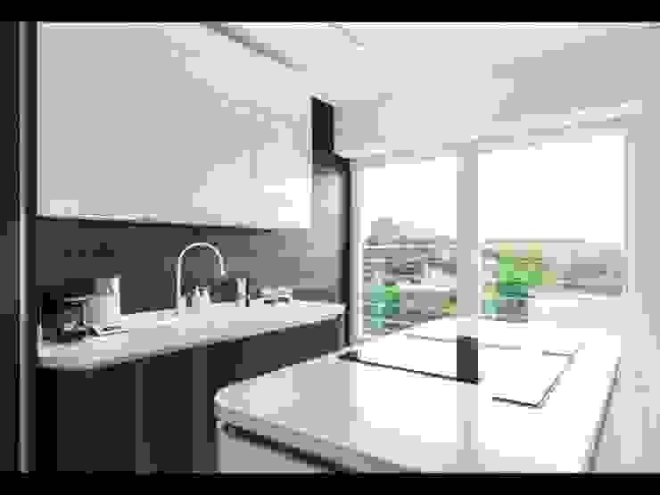 Cocinas minimalistas de Строймассив Minimalista