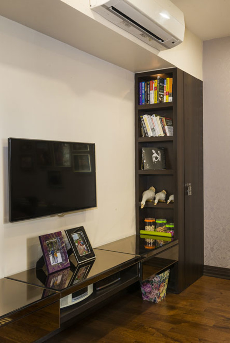 Spaces and Design Modern Media Room