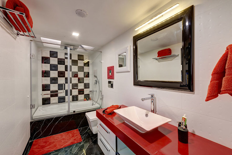Spaces and Design Modern Bathroom