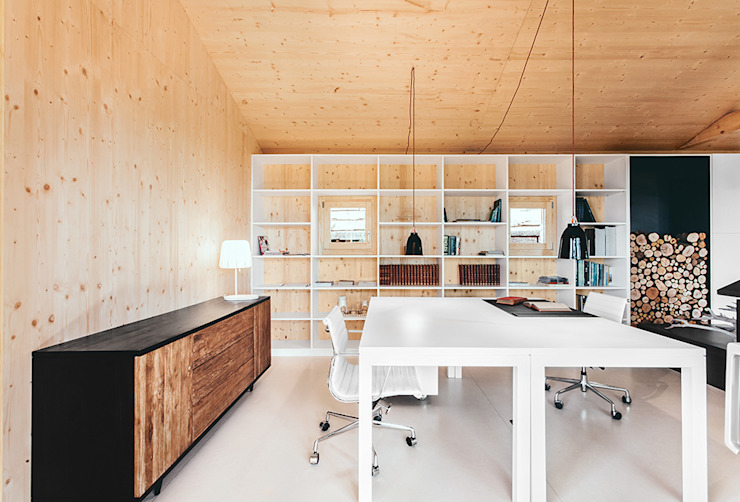 Modern style study/office by dom arquitectura Modern