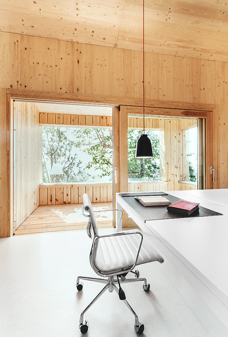 dom arquitectura Modern study/office