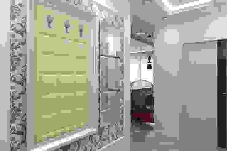 Дизайн коридора (входная зона) Коридор, прихожая и лестница в стиле минимализм от Цунёв_Дизайн. Студия интерьерных решений. Минимализм