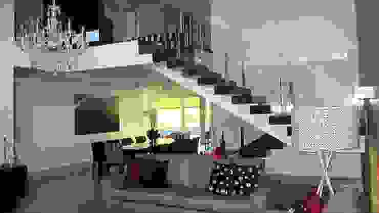 Residência - Cond. Aldeia do Vale Salas de estar modernas por Sandra Kátia Junqueira Moderno