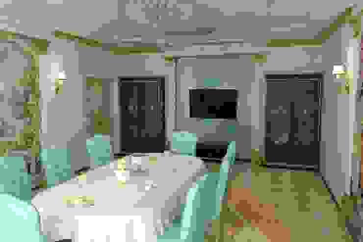 Дизайн столовой в классическом стиле. Столовая комната в классическом стиле от Цунёв_Дизайн. Студия интерьерных решений. Классический