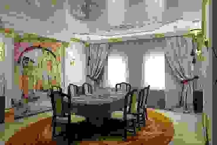 Дизайн столовой в классическом стиле Столовая комната в классическом стиле от Цунёв_Дизайн. Студия интерьерных решений. Классический