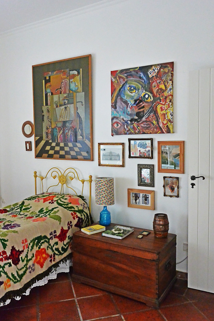Estudio 17.30 Eclectic style bedroom
