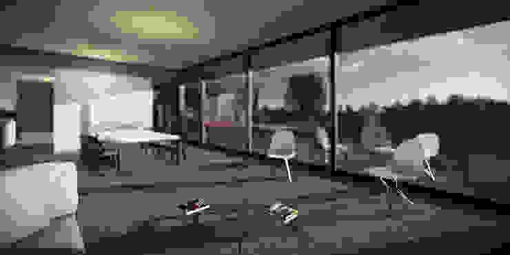 Casa CI336 Casas minimalistas de BAM! arquitectura Minimalista