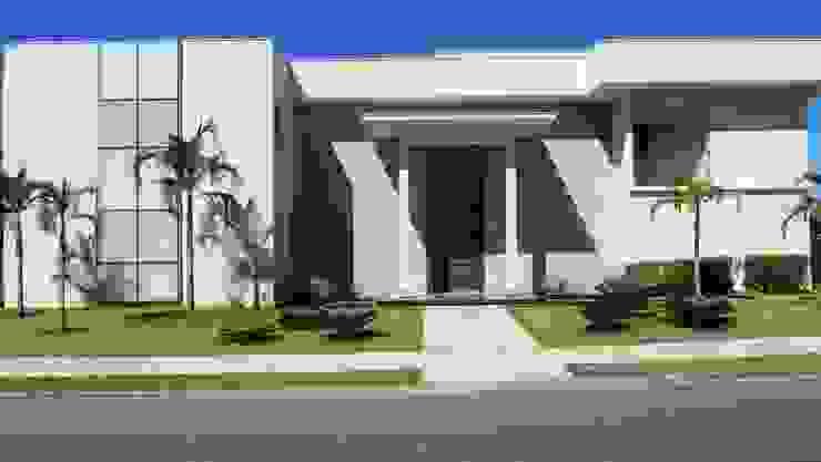 Residência – Cond. Alphaville Araguaia Casas modernas por Sandra Kátia Junqueira Moderno