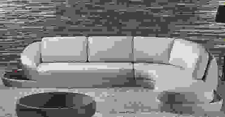 Sofás de canto Corner sofás www.intense-mobiliario.com Prince http://intense-mobiliario.com/product.php?id_product=356 por Intense mobiliário e interiores; Minimalista