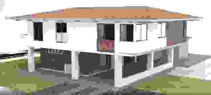 Vivienda - Vereda Cristo Rey Casas modernas de Santiago Zuluaga Arroyave Moderno