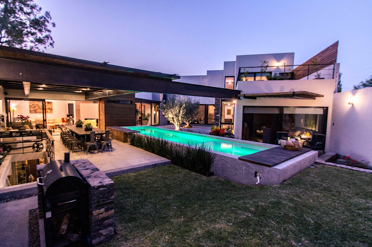 Jardin Jardines de estilo moderno de Loyola Arquitectos Moderno